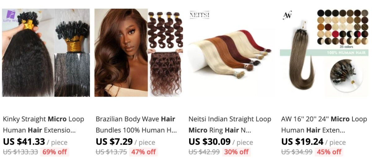 micro links products on sale