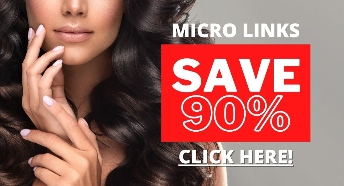 woman with micro links